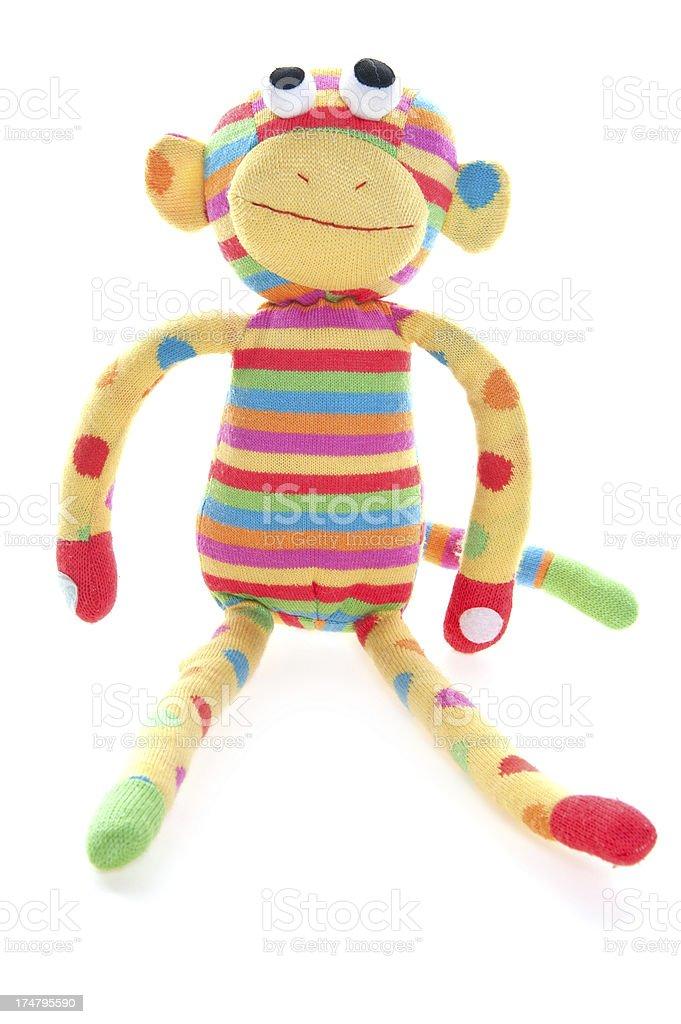 Sock Monkey stock photo