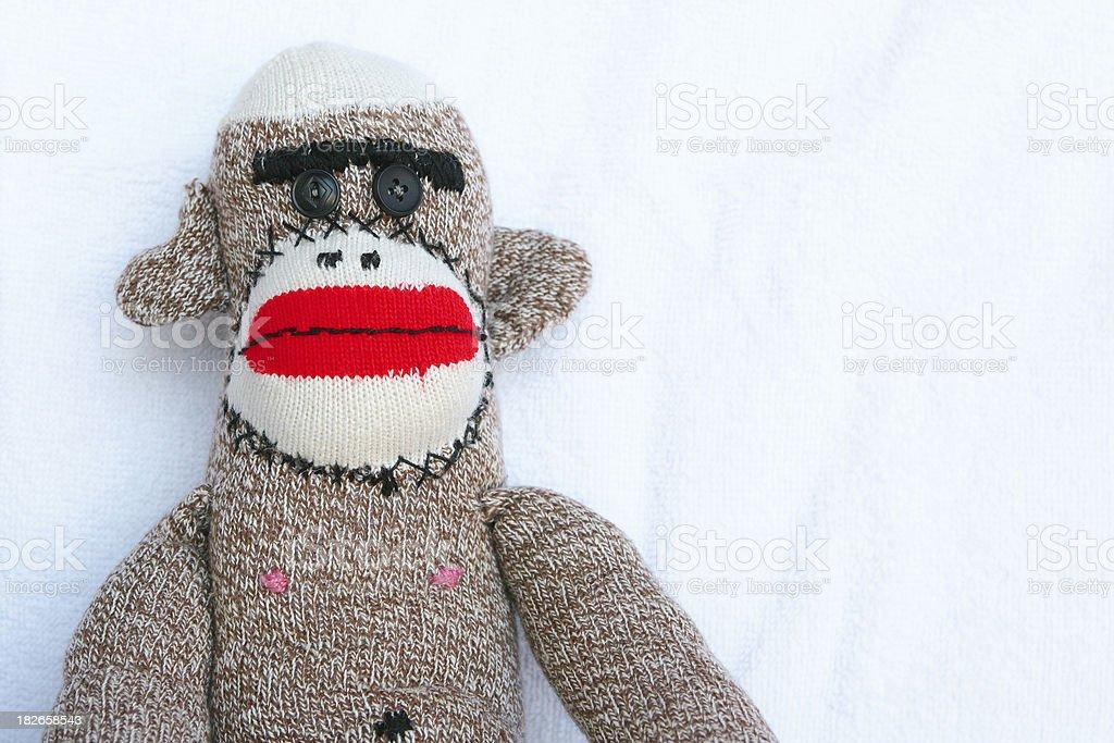 Sock Monkey royalty-free stock photo