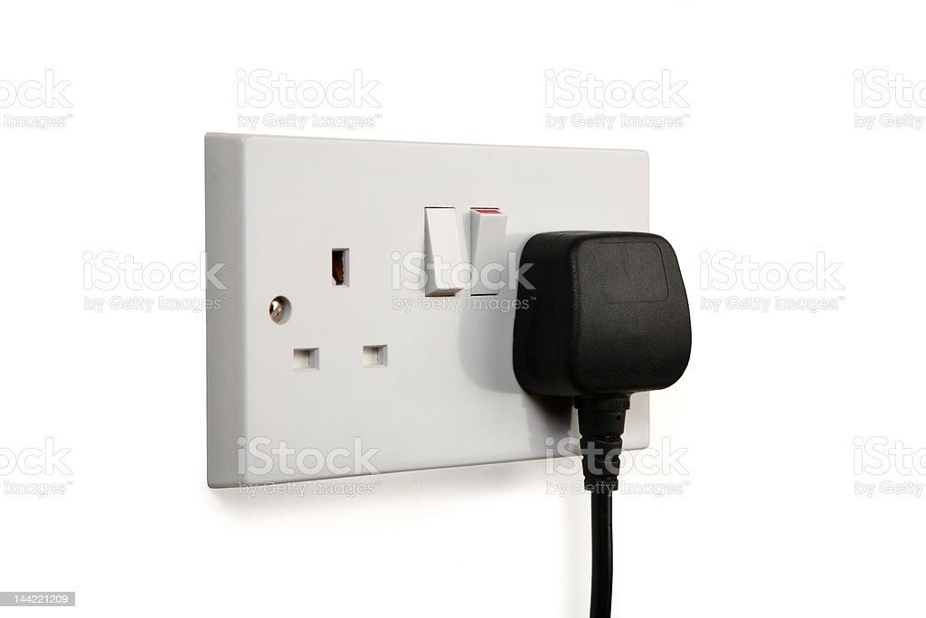 Socket on royalty-free stock photo