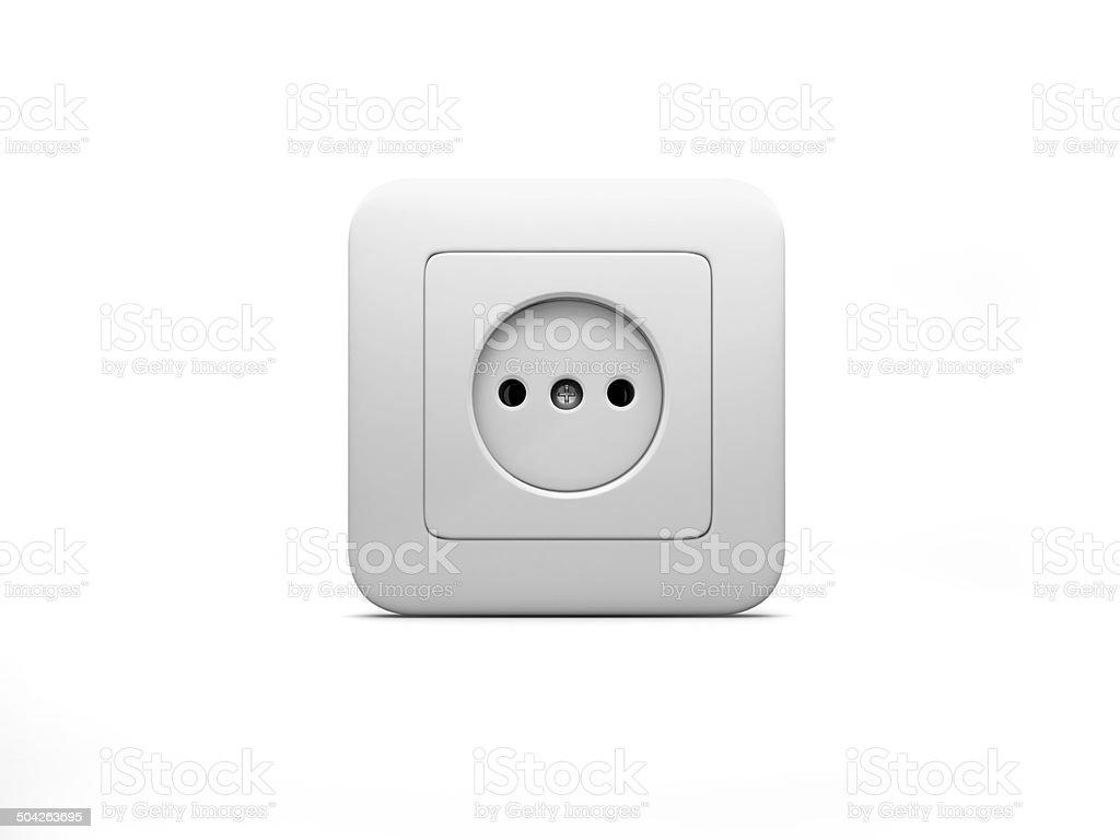 Socket stock photo