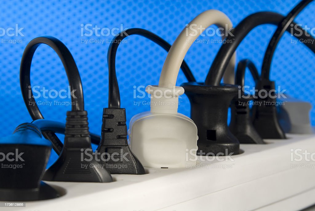 Sockets and Plugs royalty-free stock photo