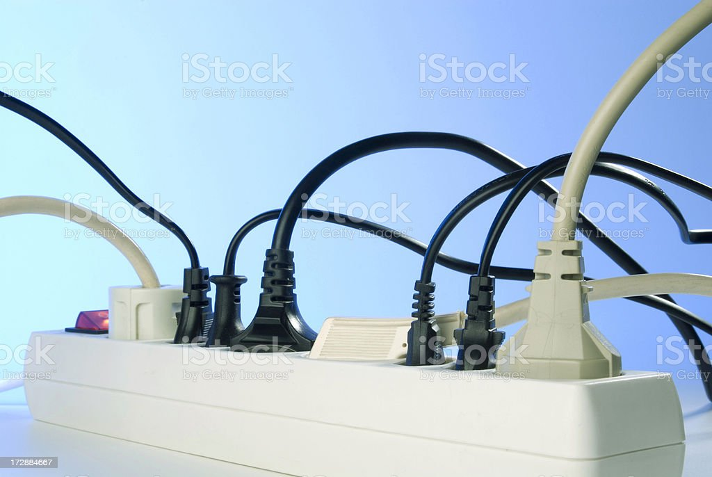 sockets stock photo