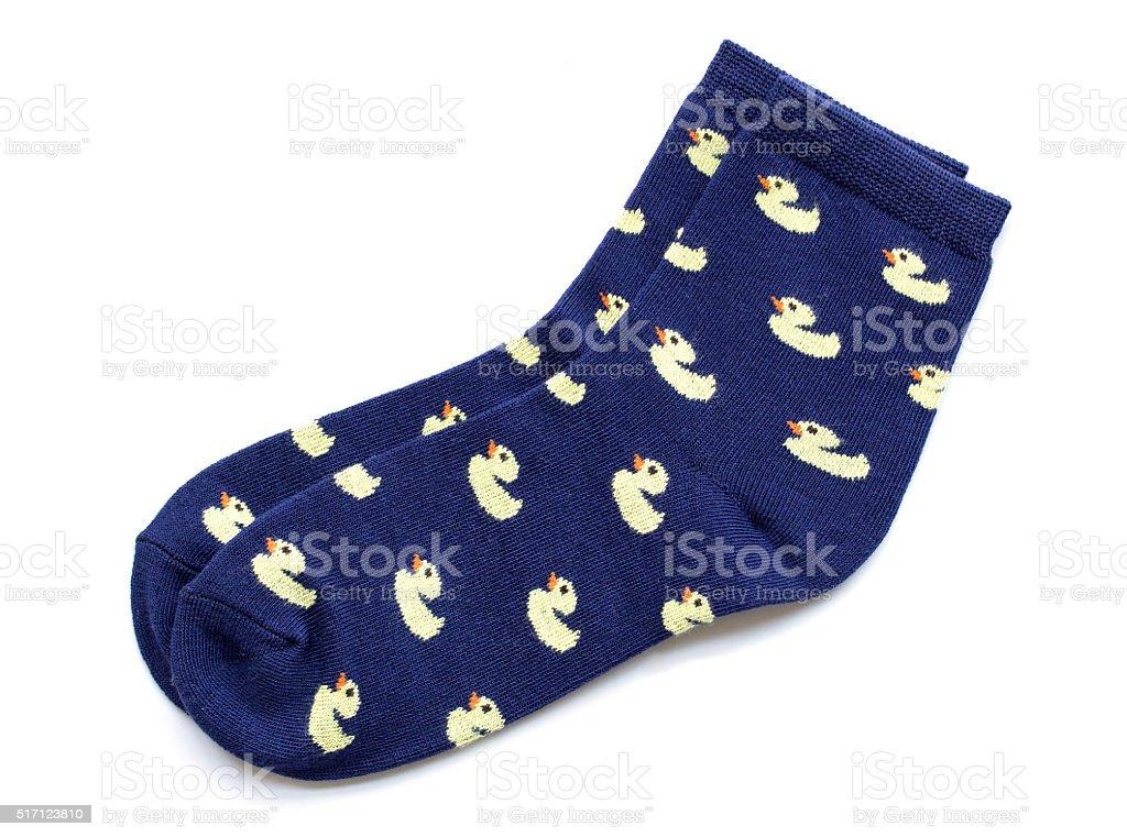 socks isolated on white stock photo