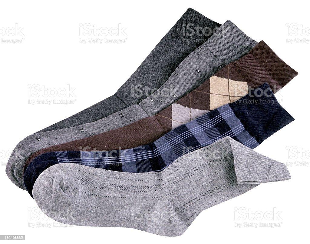 Socks royalty-free stock photo