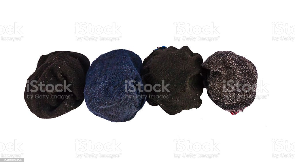 Socks with isolate backgrounds. stock photo