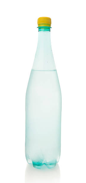 bottiglia di bibita - fruit juice bottle isolated foto e immagini stock