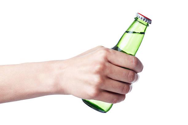 Botella de gaseosa - foto de stock