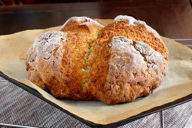 Soda bread stock photo