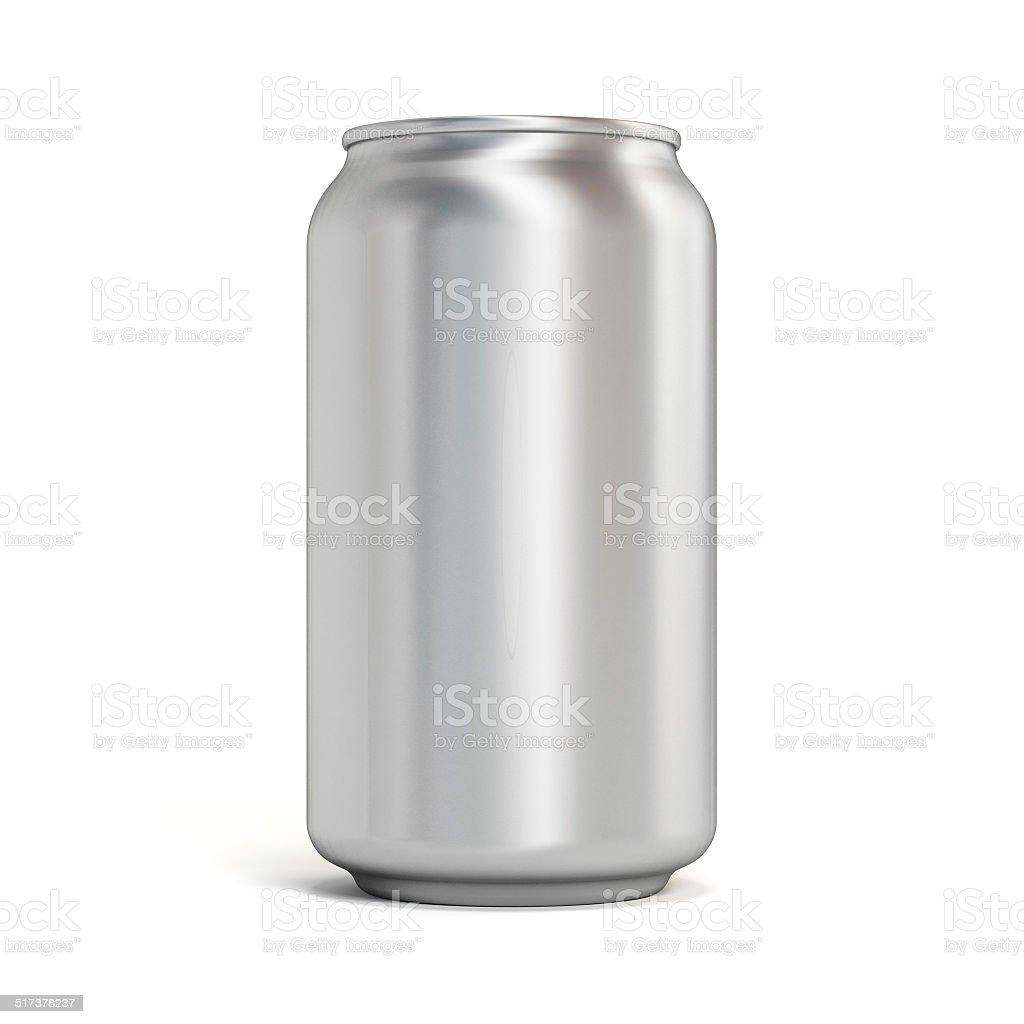 Soda can stock photo