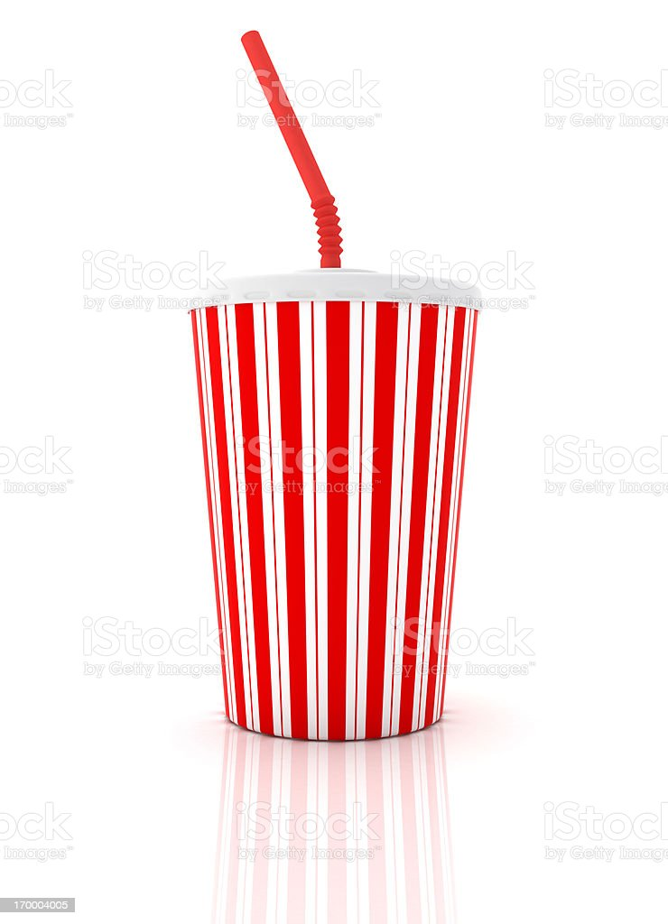 Soda Cup royalty-free stock photo