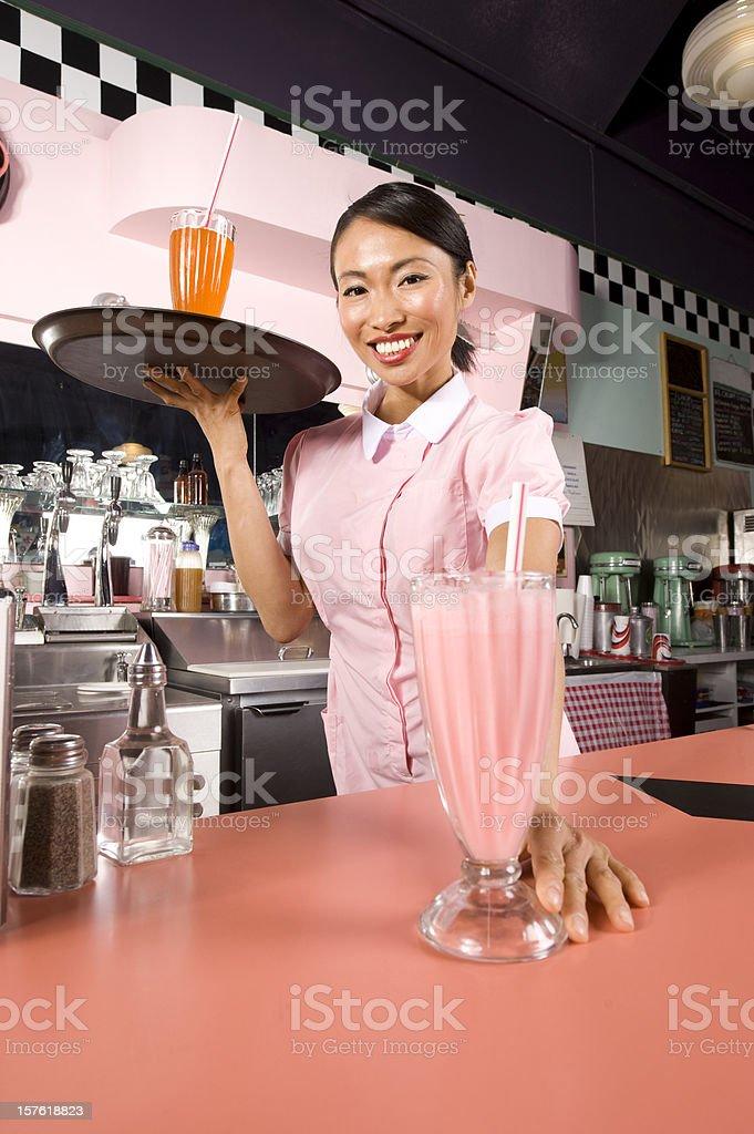 Soda Shop. royalty-free stock photo