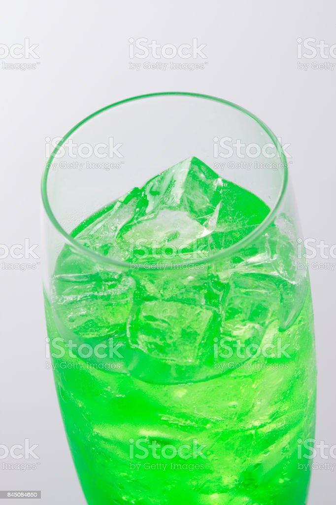 Soda water stock photo