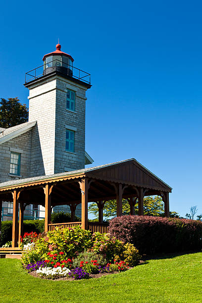 Sodus Point Light House stock photo