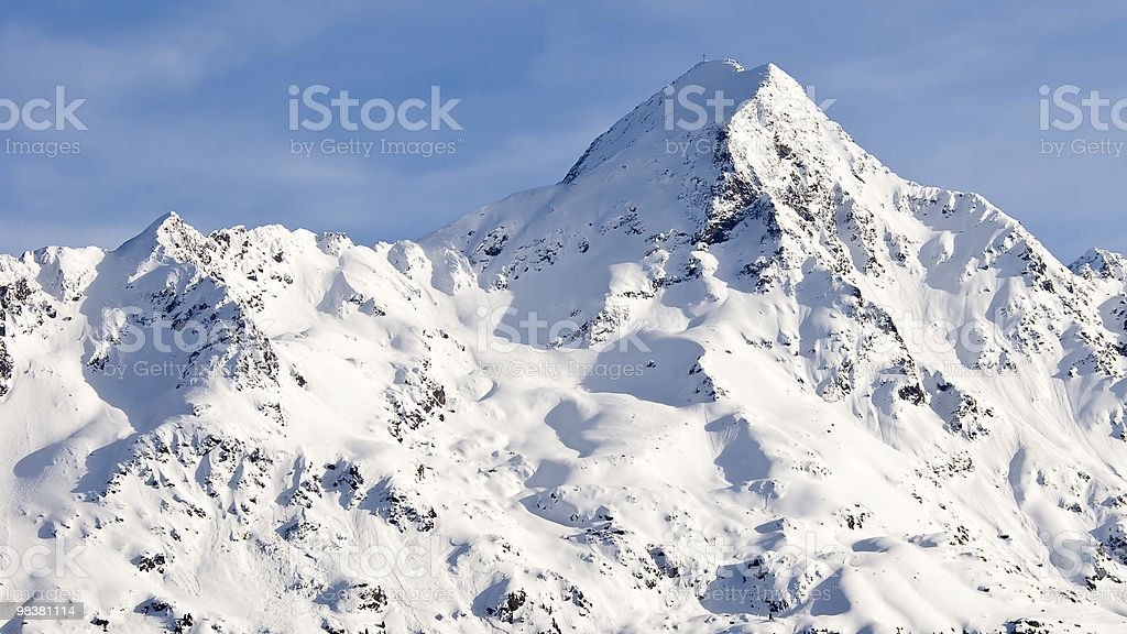 Soelden royalty-free stock photo