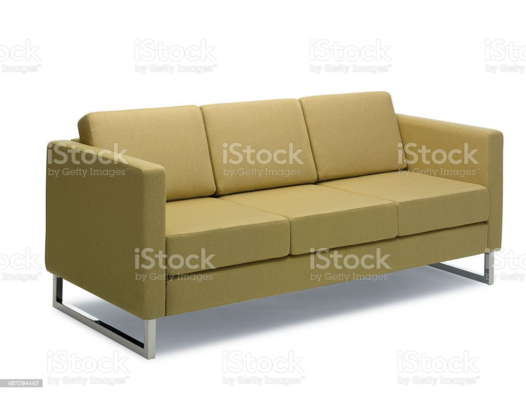 Sofa 3 Seats Modern stock photo