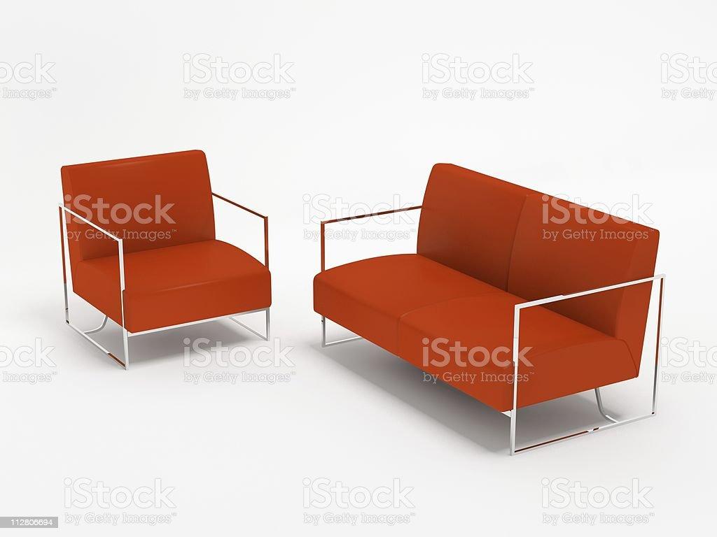 sofa und Sessel – Foto