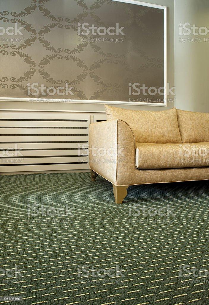 sofa and carpet royalty-free stock photo