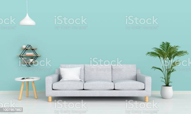 Sofa and lamp in living room for mockup 3d rendering picture id1007957982?b=1&k=6&m=1007957982&s=612x612&h=8tnwb0fmmchybgfgpkep2z3m bfftws0me1abyyi yu=