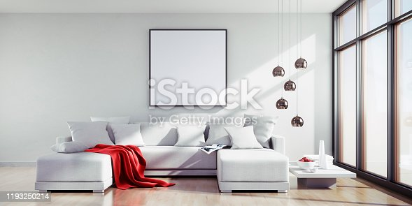istock Sofa and Picture Frame 1193250214