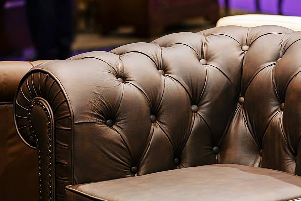 sofa-detail - diy leder stock-fotos und bilder