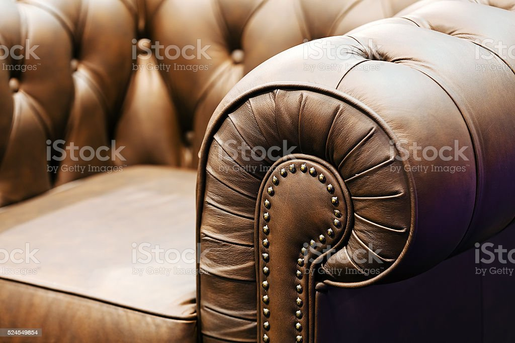 Sofa detail stock photo