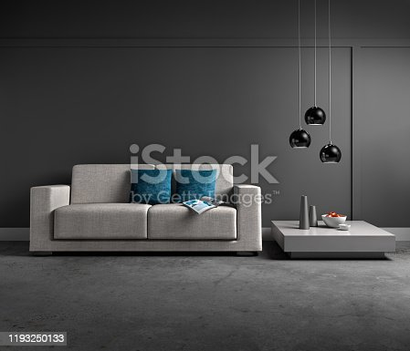 istock Sofa in apartment 1193250133