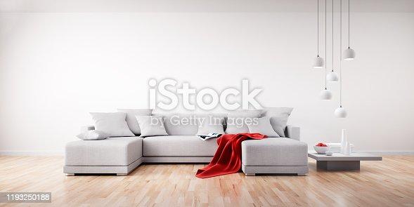 istock Sofa in apartment 1193250188