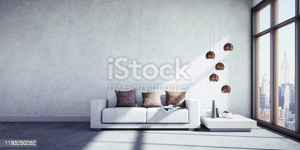 istock Sofa in big apartment 1193250252