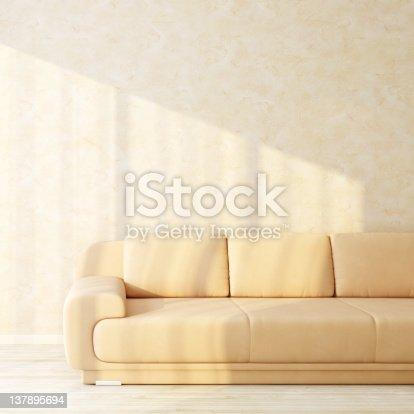 629801250istockphoto Sofa in bright sunny interior 137895694