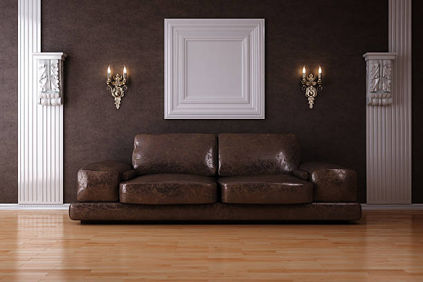 Sofa in Luxus-Interieur – Foto