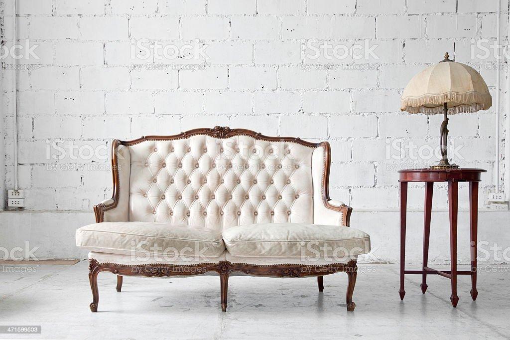 Sofa in room royalty-free stock photo