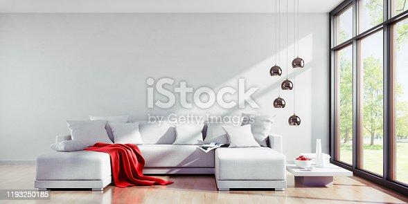 istock Sofa in sunny apartment 1193250185