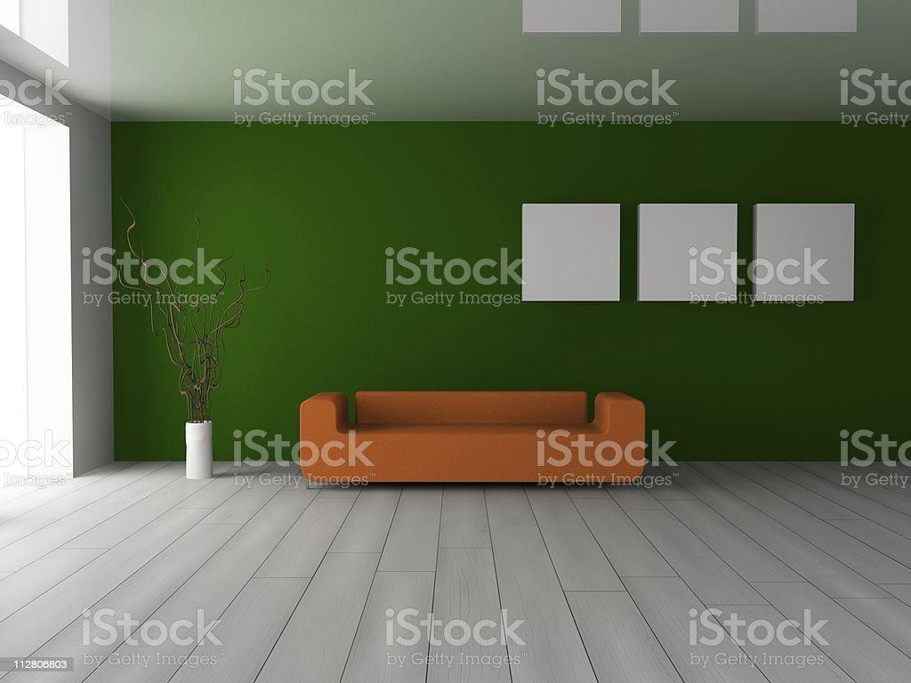 sofa im Zimmer – Foto