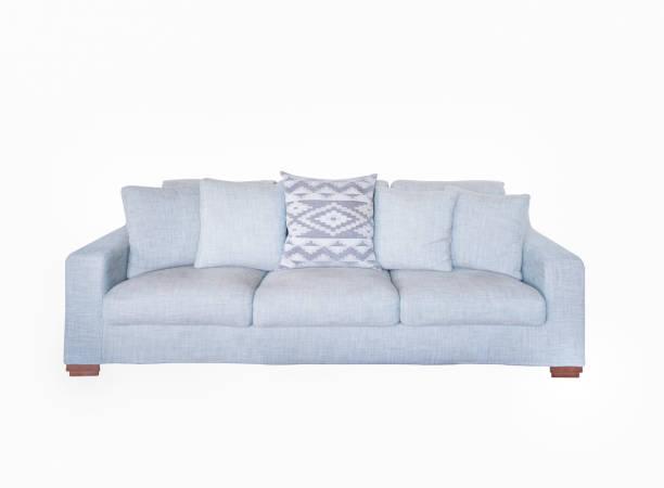 Sofa isoliert auf weißem Hintergrund – Foto
