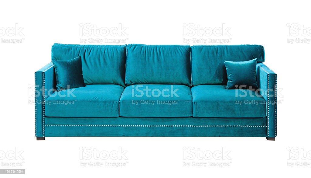 Sofa Isolated stock photo