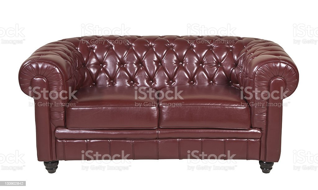 sofa isolated with path royalty-free stock photo