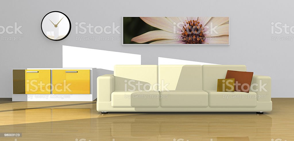 Sofa lifestyle couch decoration royalty-free stock photo