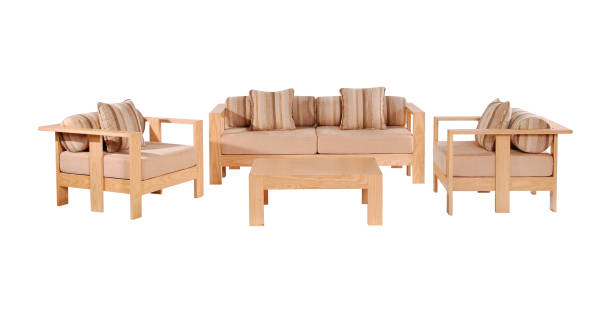 Sofa set stock photo