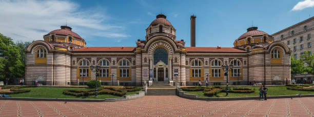 Sofia, Bulgaria - 10.13.2018 : Regional History Museum stock photo