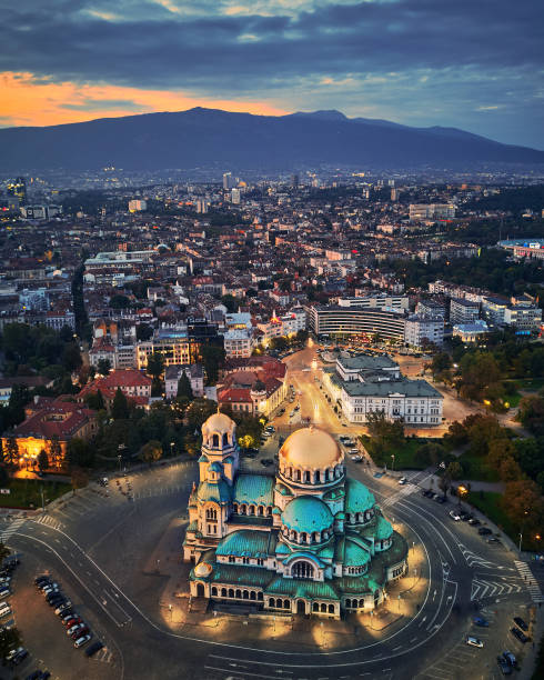 sofia, bulgarije - bulgarije stockfoto's en -beelden