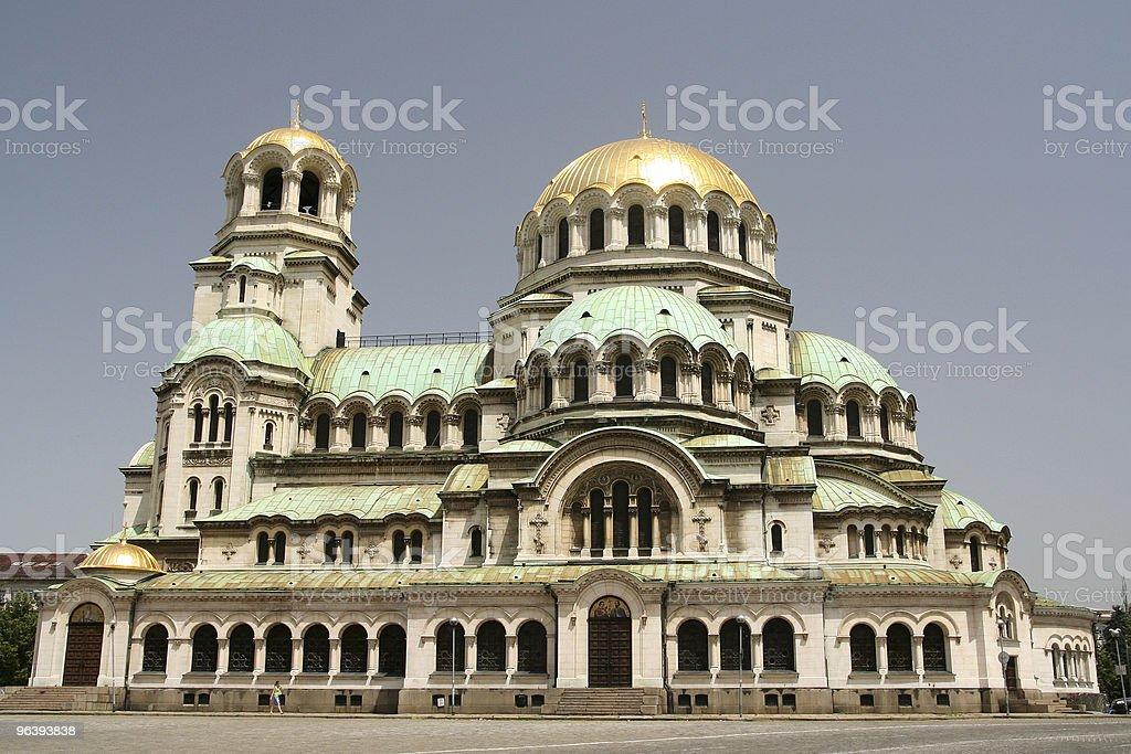 Sofia Cathedral - Royalty-free Alexander of Yugoslavia Stock Photo