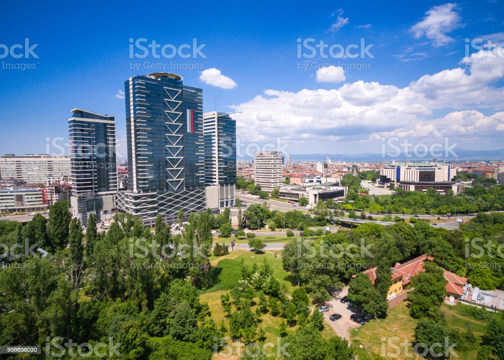 Sofia City, Bulgaria stock photo