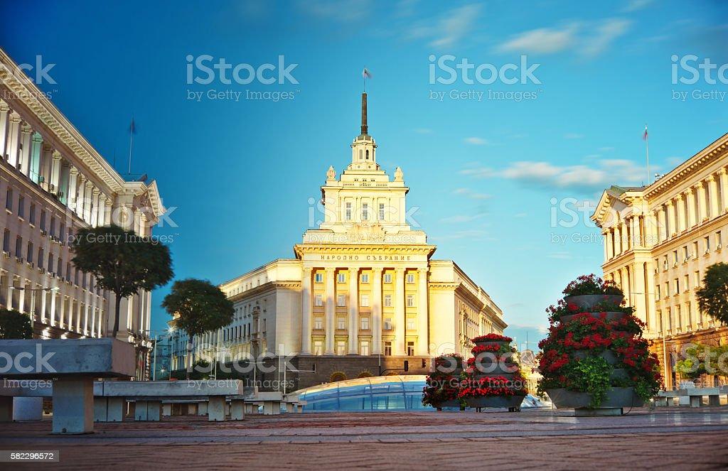 Sofia Day and Night stock photo