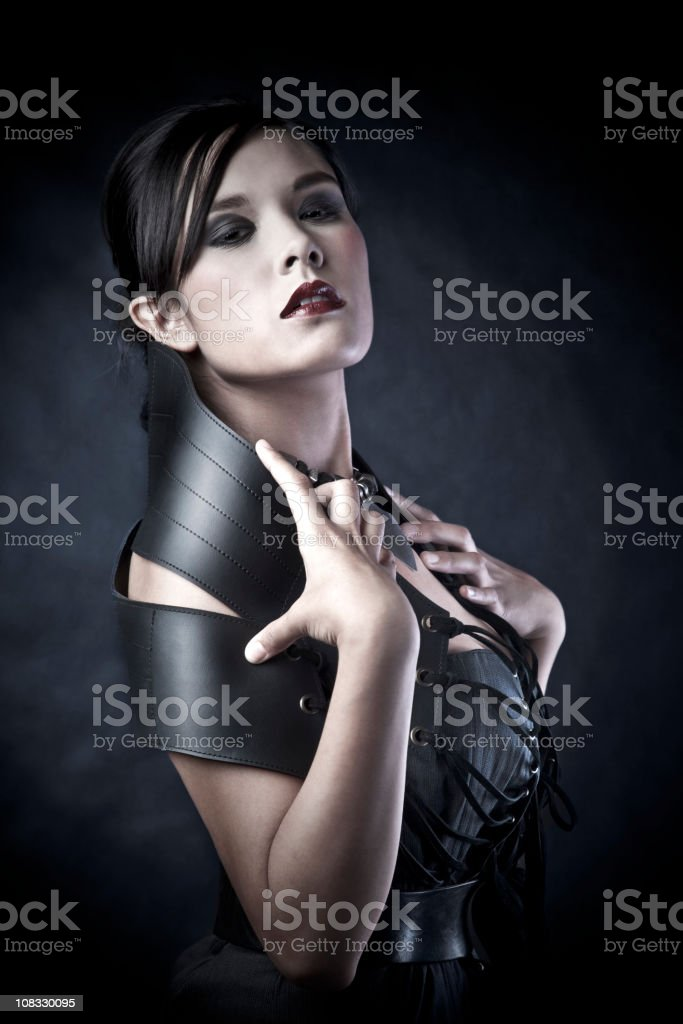 Sofisticated woman royalty-free stock photo