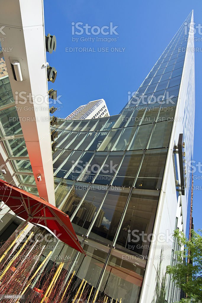 Sofitel Chicago Water Tower stock photo