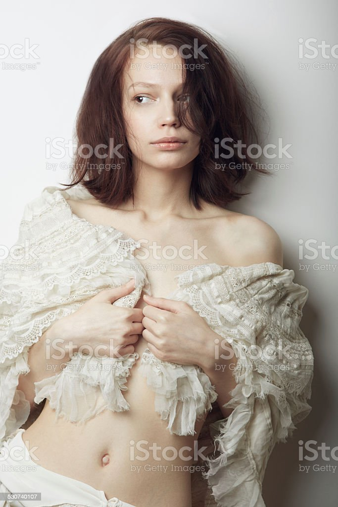 Soft and subtle beauty stock photo
