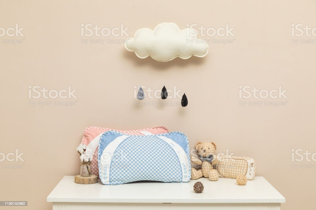 Soft and warm baby pillow