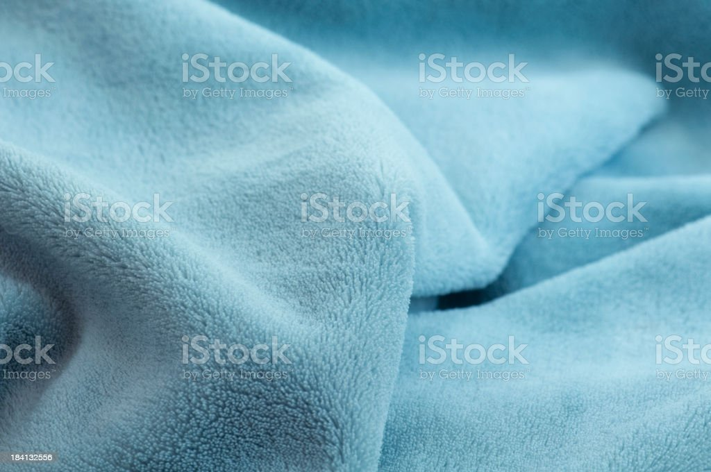 Soft baby blanket close up stock photo