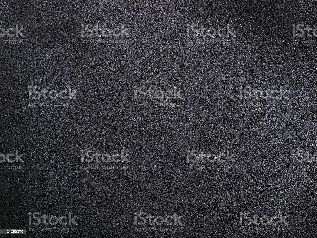 soft black leather stock photo