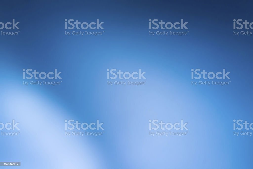 Soft blue abstract background stock photo